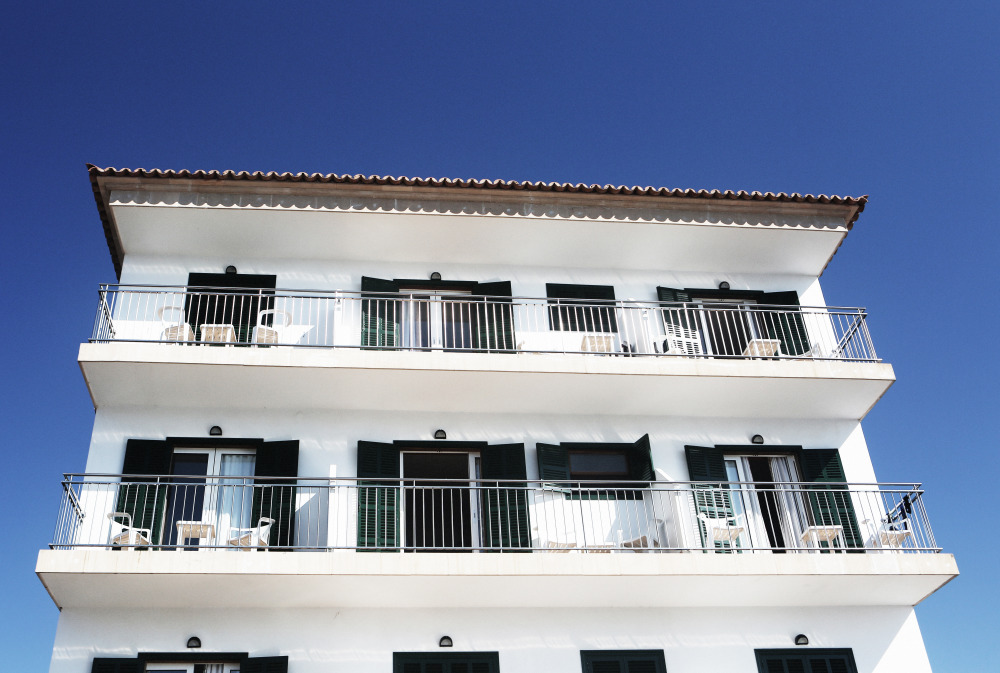 Public Domain Images Vacation Palma Fruits Sun Apartments Black White Building Balcony