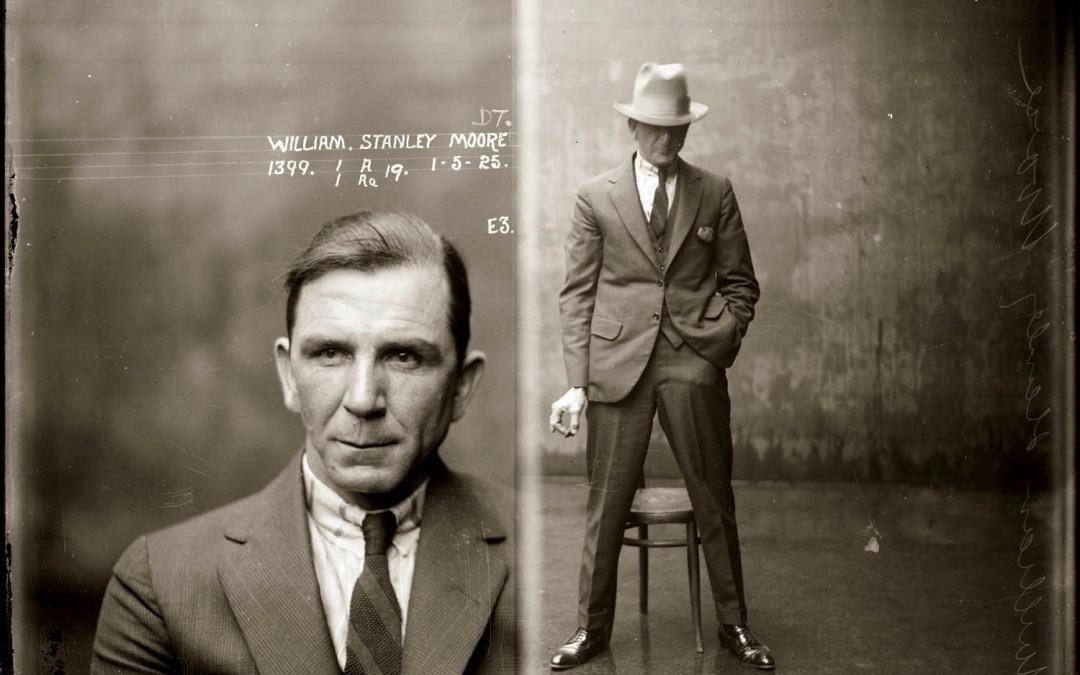 Public Domain Images – 1920′s Vintage Mugshots NSWPD Special Photographs